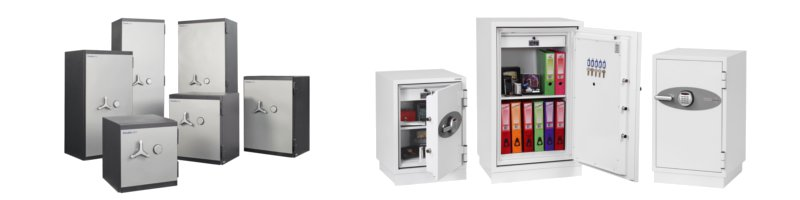 A group of safes