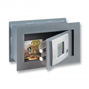Burton Point Wall Safe with electronic lock